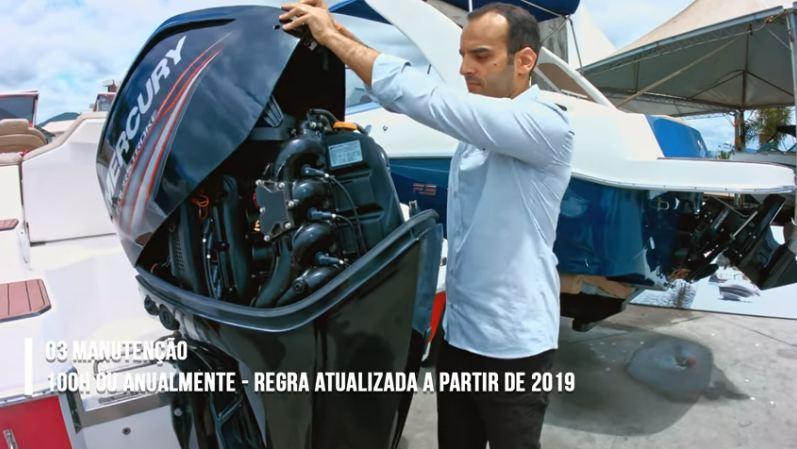 motor de popa manutenção