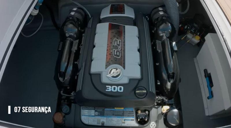 motor de popa segurança
