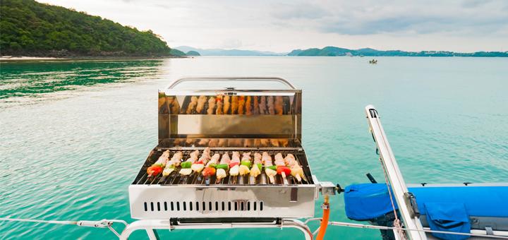 churrasqueira para barco